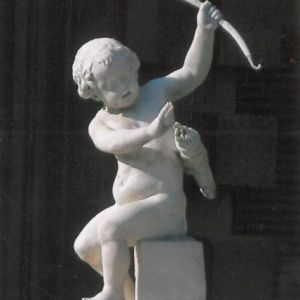 Statue of Cupid in the Boboli Gardens, Florence.